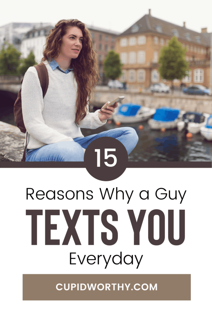 A guy texts everyday when Lovearoundme